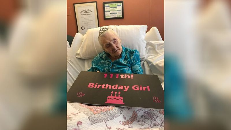 Prestonsburg woman celebrate 111th birthday.