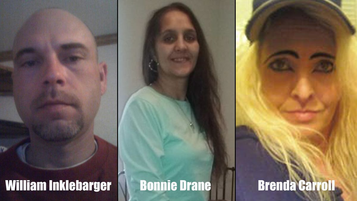 KPD needs your help to find three missing people. / Source (KPD)