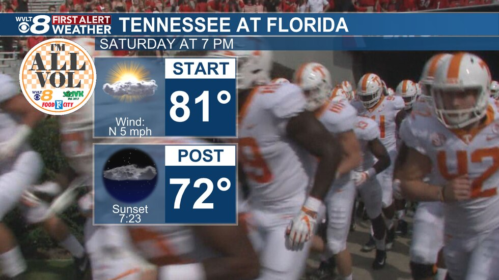 Saturday, Tennessee at Florida
