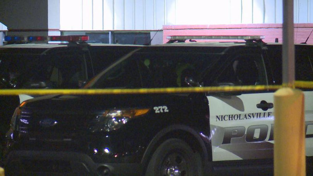 One person was shot by police during a Kroger pharmacy robbery in Nicholasville, Kentucky. / Source: (WKYT)