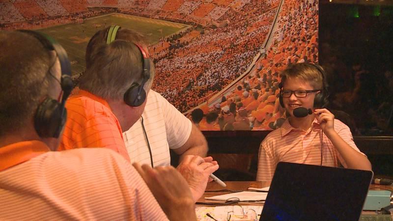 Tennessee coach Josh Heupel's son