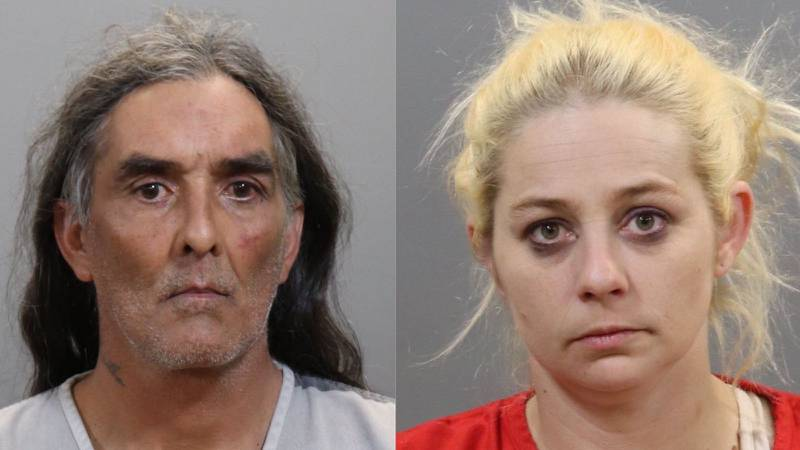 Danny Kevin Chavis, 55, and Paige Nicole Nicholson, 38, were taken into custody at 3:04 am,...