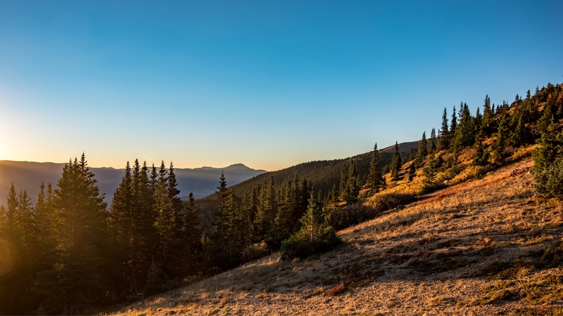 Mount Elbert is Colorado's highest peak, with an elevation of 14,443 feet.
