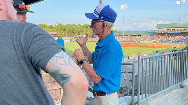 Steve Eason is a Smokies Usher, but he was once in launch control at NASA.