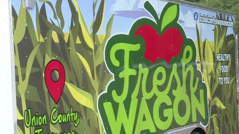 New mobile food pantry in Union County called Fresh Wagon takes fresh food to various...