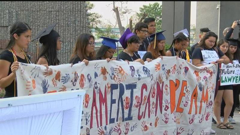 Protesters gather in Memphis as future of DACA program in doubt