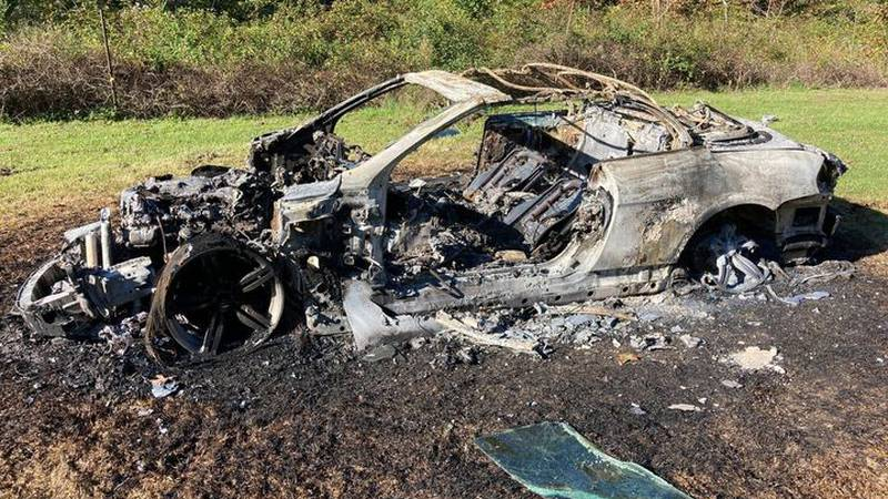 Hamblen County deputies investigating car fire