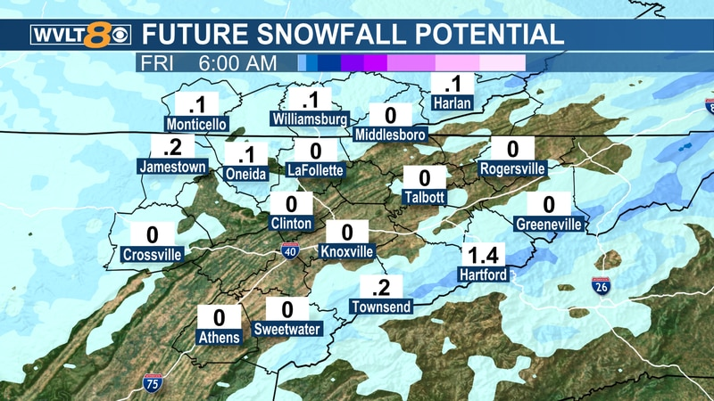 Flurries to mountain snow showers continue today