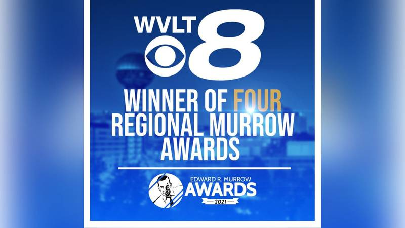 WVLT News honored with 4 prestigious Edward R. Murrow Awards in 2021.