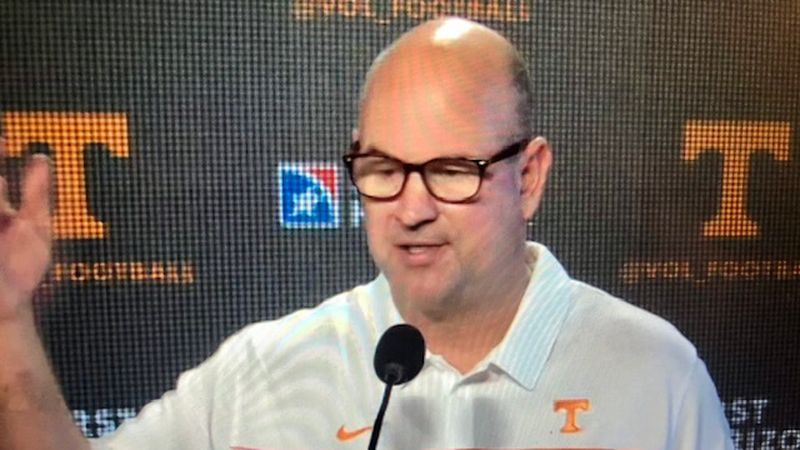 Vols head coach at weekly Monday news conference on Nov. 16th