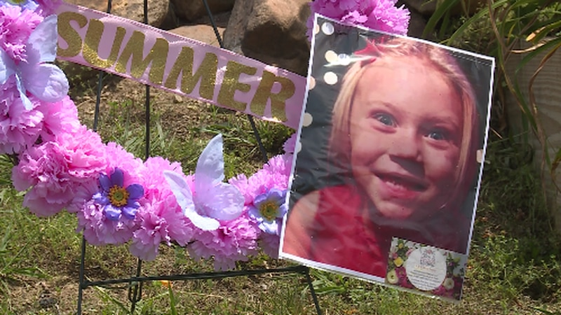 A picture of Summer Wells from a Prayer Vigil.