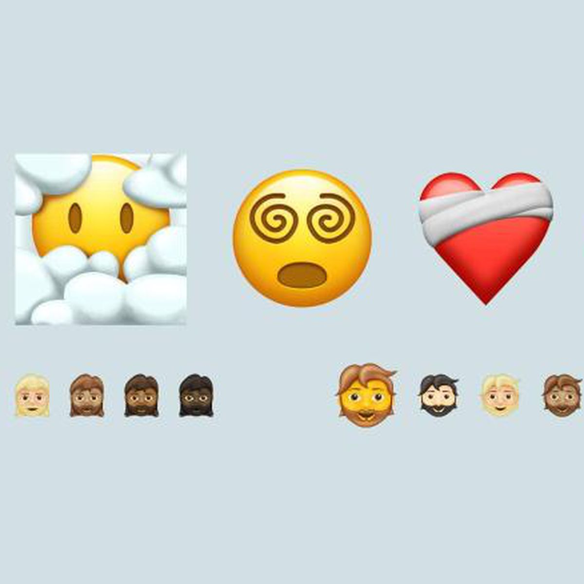 Seven new emojis to be released in 12