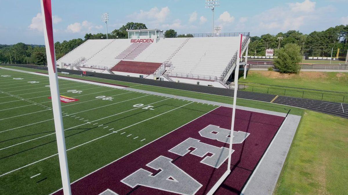 Bearden High School football team shut down for 2 weeks.
