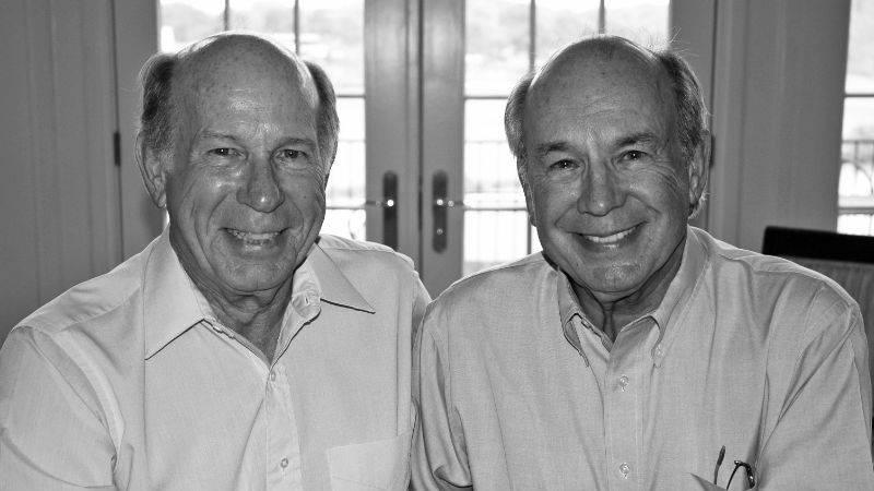 Joe Clayton (left), Jim Clayton (right)