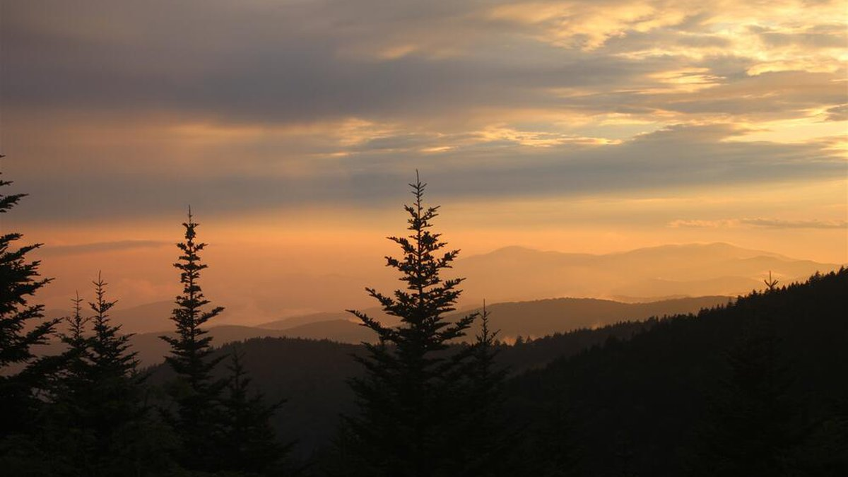 Sunset in East Tennessee