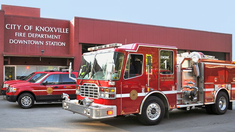 Knoxville Fire Department was called to a house fire at 2313 Unity Dr. in North Knoxville...