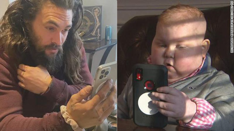 'Aquaman' Star Jason Momoa Calls 7-year-old battling cancer.