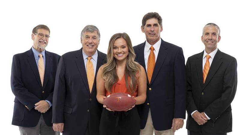 Football broadcast team