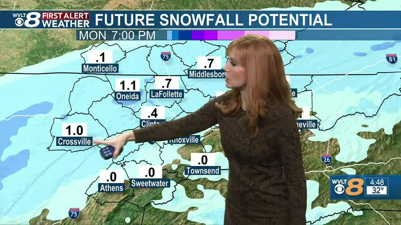 Heather Haley tracking snow showers this morning.