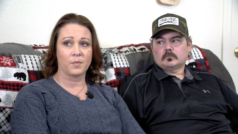 Heather and Jake Sharek both recently had COVID-19. Heather was vaccinated, Jake was not. A...