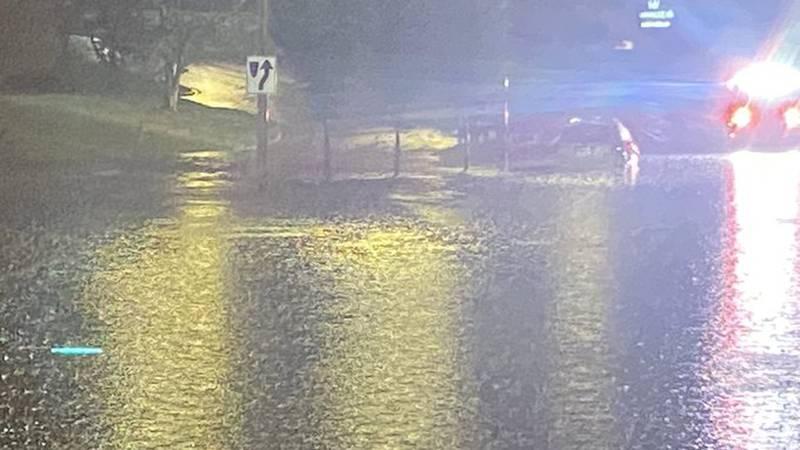 Flooding on West Boulevard