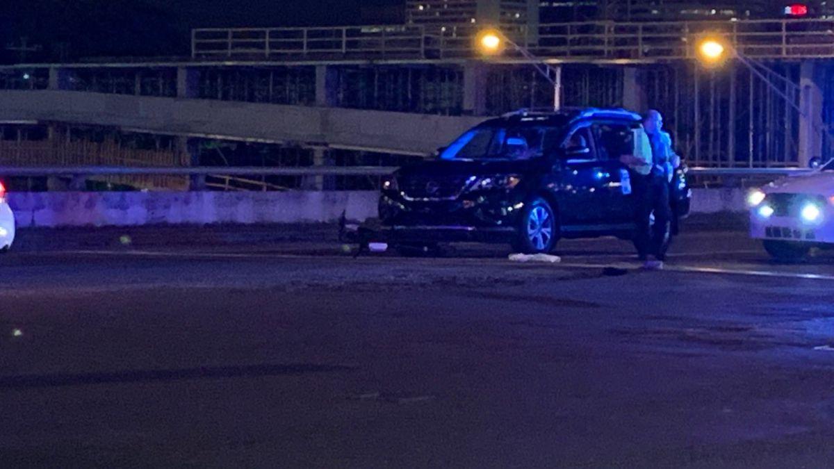 A man is dead after a Nashville scooter crash. (WTVF)