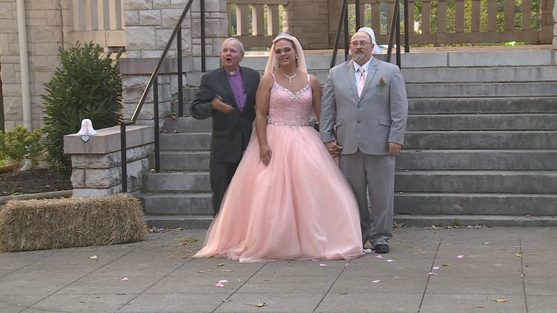 Wedding at the Tennessee Valley Fair
