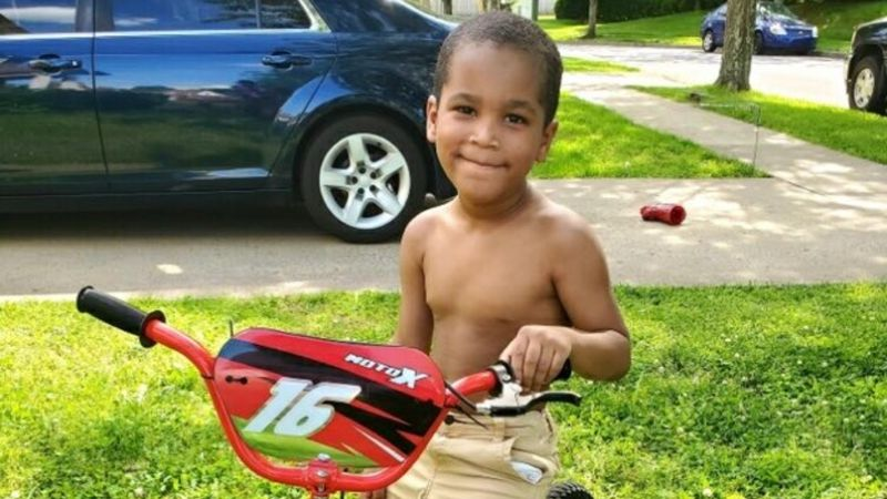 Malakai Roberts was sleeping next to his mom and three-year-old sibling in the home on Catera...
