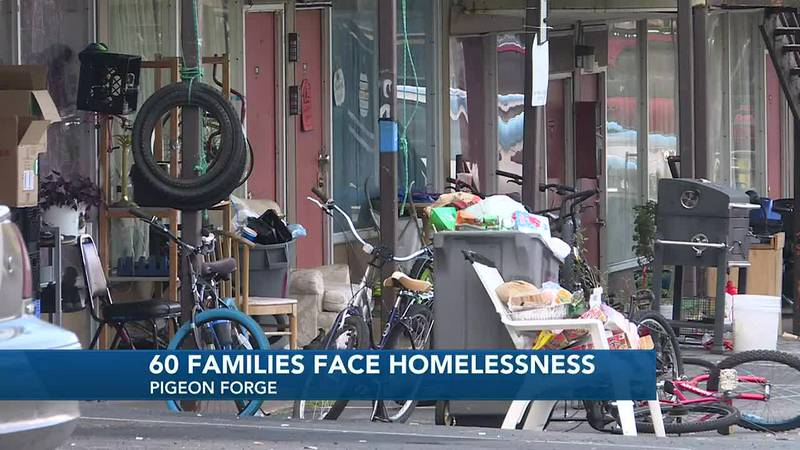 Many residents said they pay $800 a month to stay there.