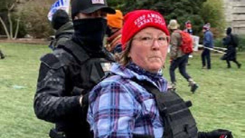 Mother of zip-tie suspect arrested