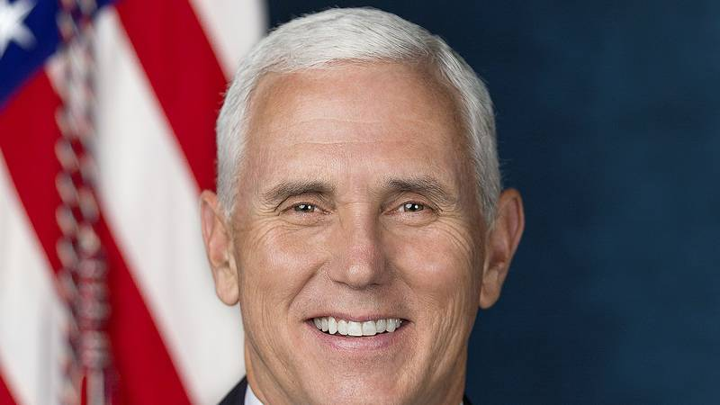 Former Vice President Micheal Pence.  (Official White House Photo by D. Myles Cullen)