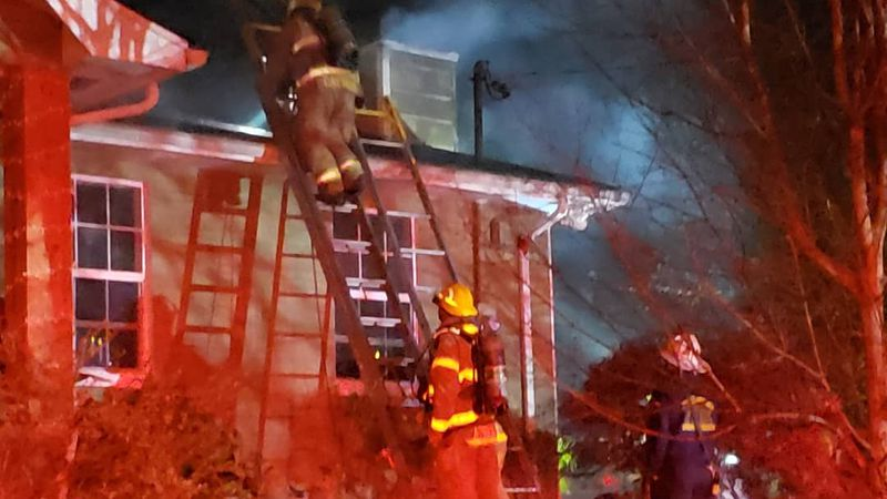 South Knox chimney fire