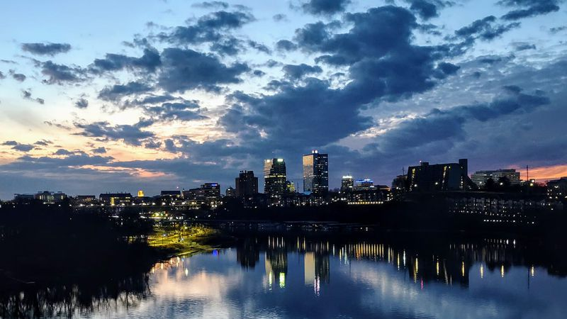 Stuart O'Neill took this photo late Tuesday, of the downtown Knoxville skyline.