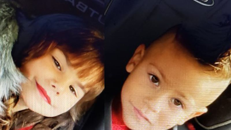 An Amber Alert was issued for two children taken from Sparks, Nev.