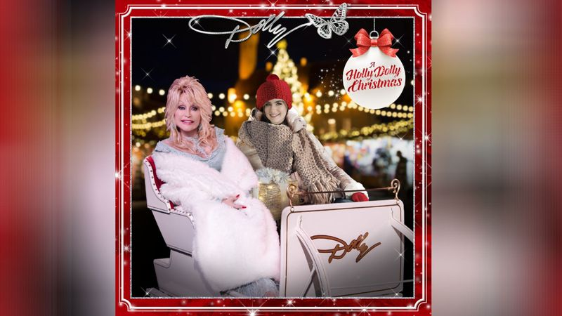 Holly Dolly Christmas Cards