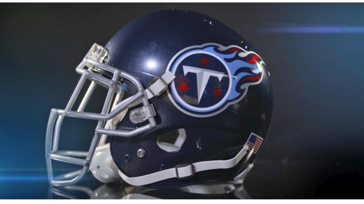 Tennessee Titans football helmet