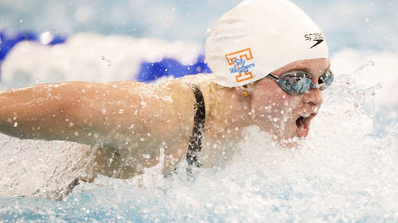 Lady Vols swimmer Erika Brown