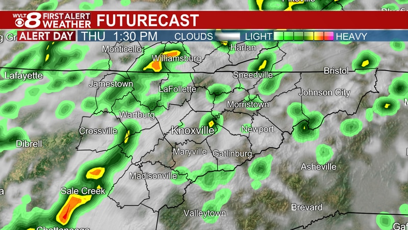 First Alert for Thursday's storms