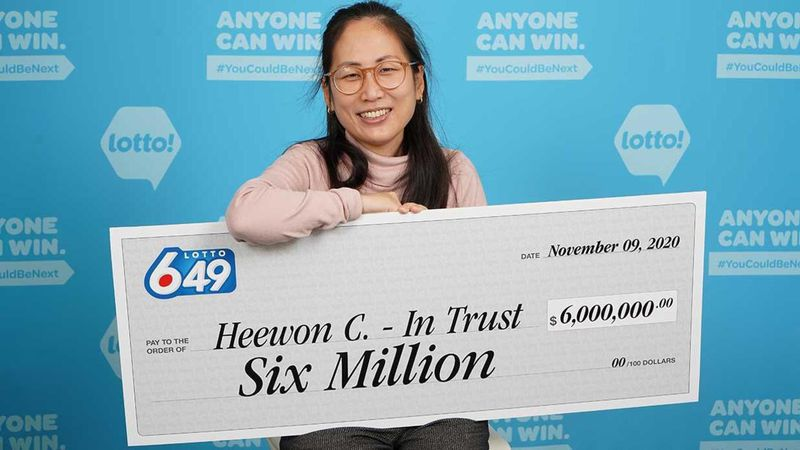 """Heewon Choi, the captain of the group, who bought the winning ticket, said she """"couldn't..."""