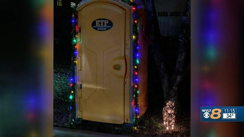 Porta-potty Christmas