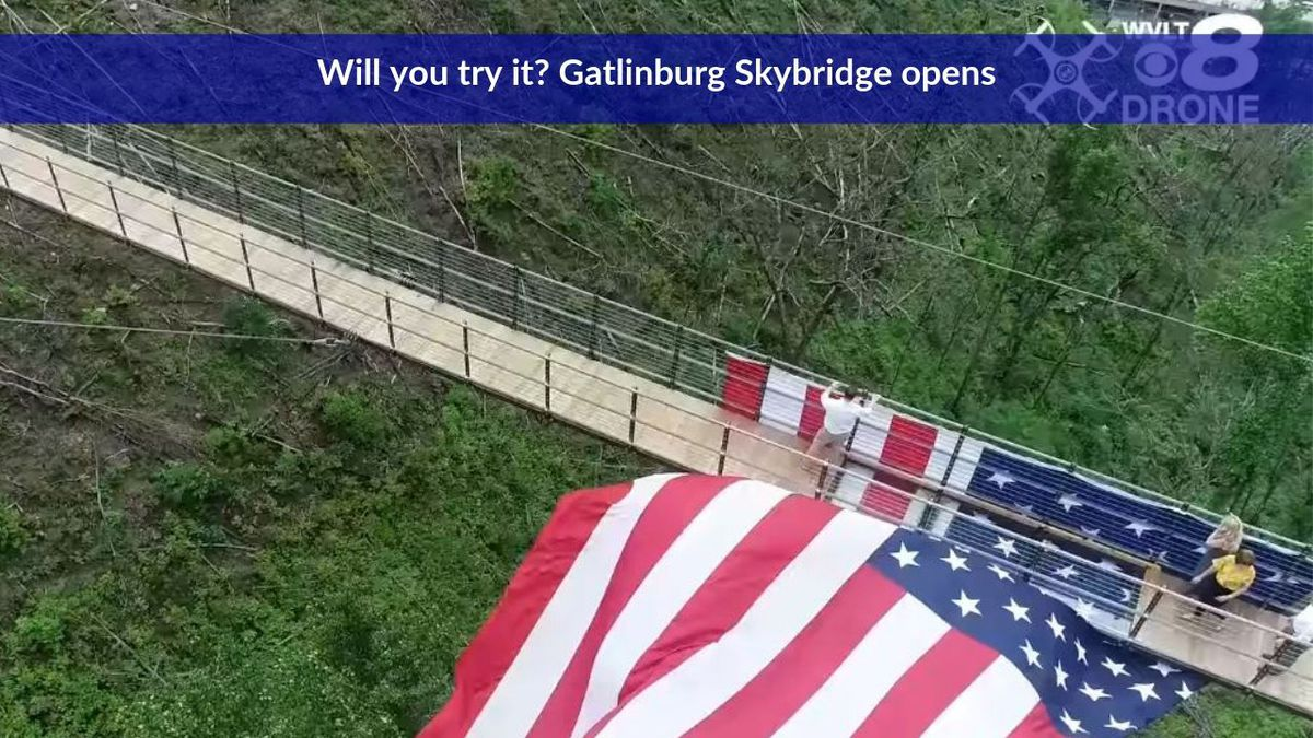 North America's longest pedestrian bridge is set to open in Gatlinburg / Source: WVLT