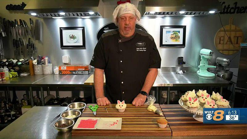 Chef John's Easter Bunny cupcakes recipe