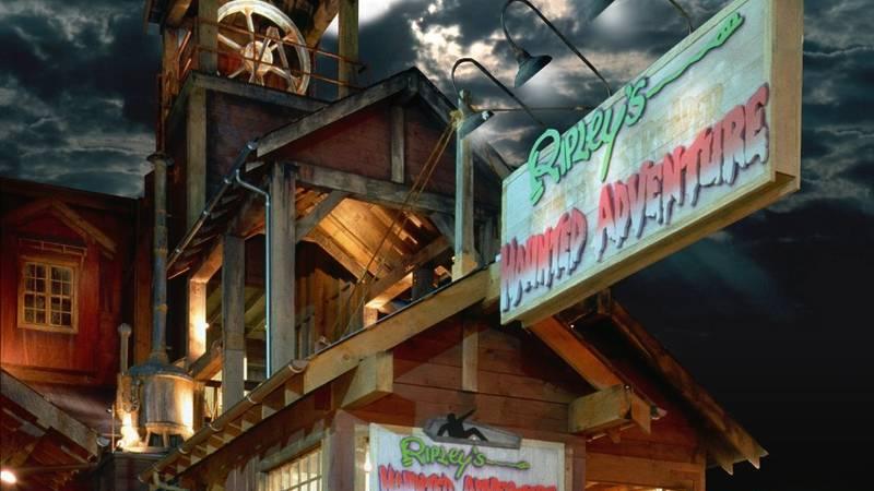 Ripley's Haunted Adventure, Gatlinburg, TN.