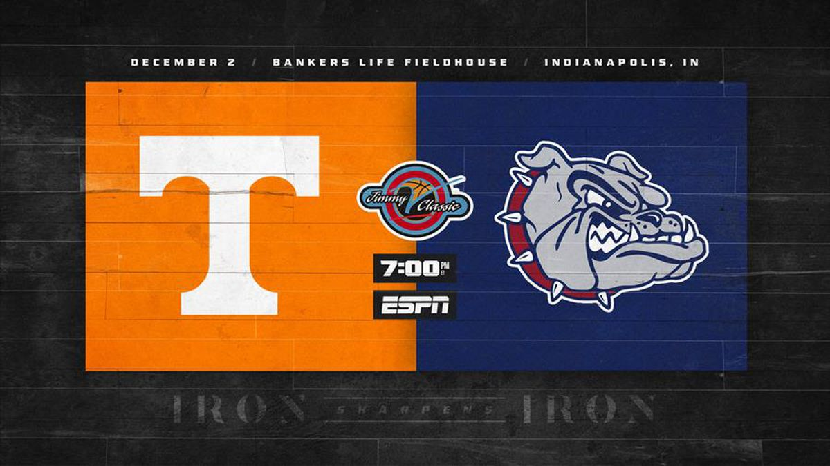 Vols and Zags set to meet on Dec. 2nd