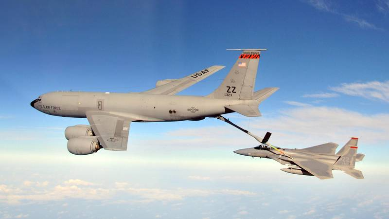 KC-135 Stratotanker from 134th Air Refueling Wing. Source: USAF