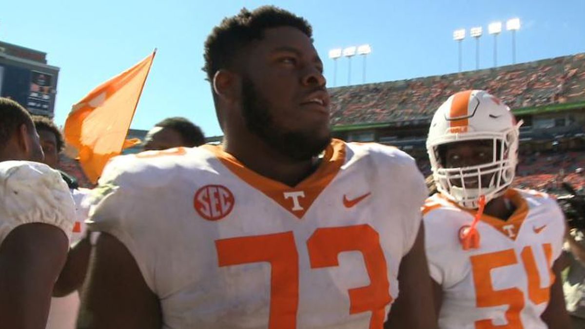 Trey Smith was named one of 20 semifinalists for the Jason Witten Collegiate Man of the Year Award. / (WVLT)