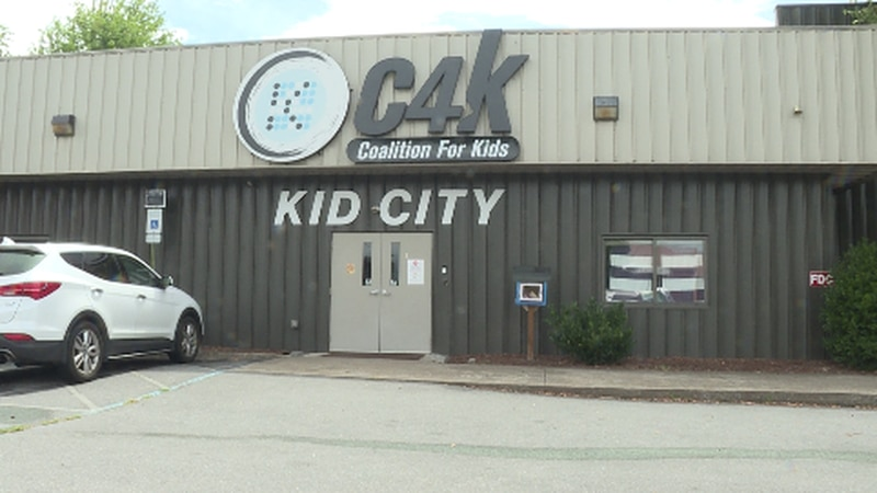 The outside of Coalition for Kids in Johnson City