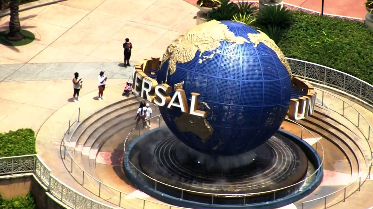 People who visit Universal Studios Orlando Resort no longer must wear masks while they're...
