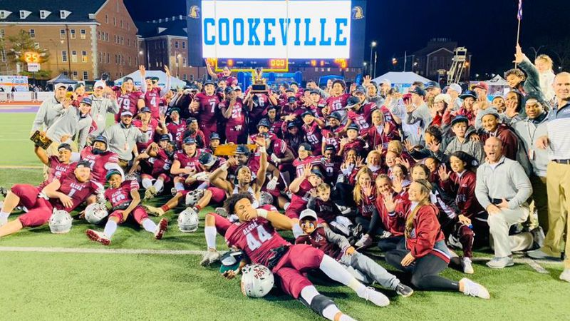 Alcoa Tornadoes celebrate their fifth consecutive state championship win / Source: Varsity All...