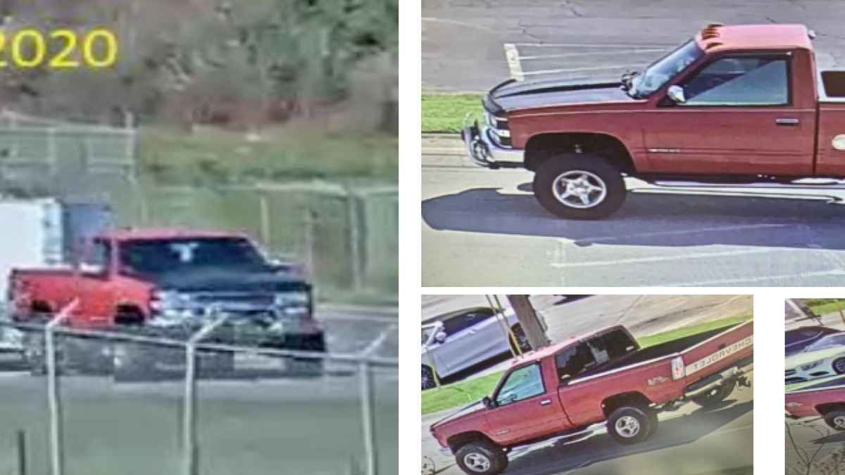 Nashville International Airport searching for stolen vehicle.